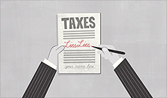 Filing a false tax return comes with big penalties