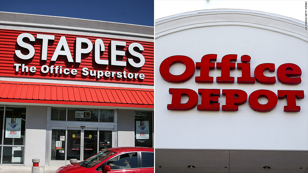 Staples And Office Depot Call Off Merger - May. 10, 2016