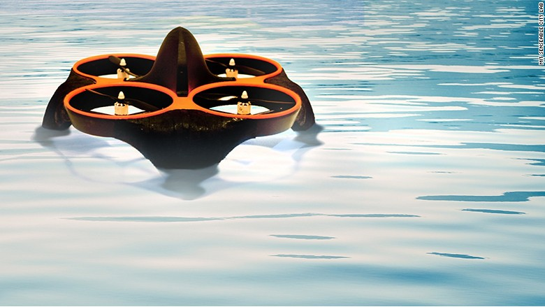 MIT drone Waterfly