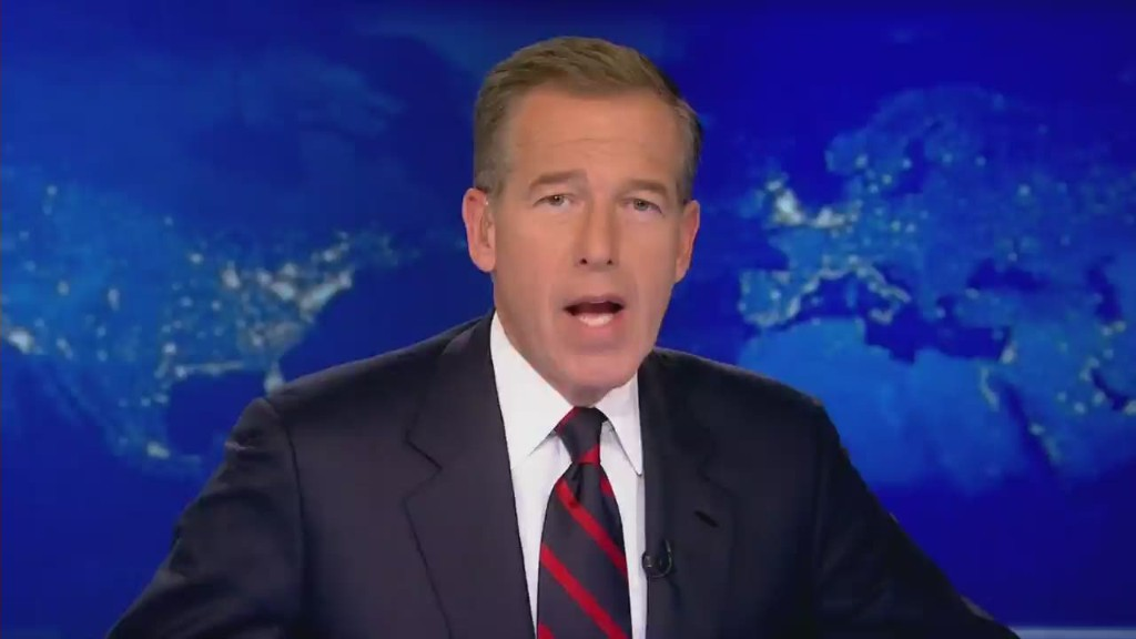 Brian Williams won't anchor for 'next several days'