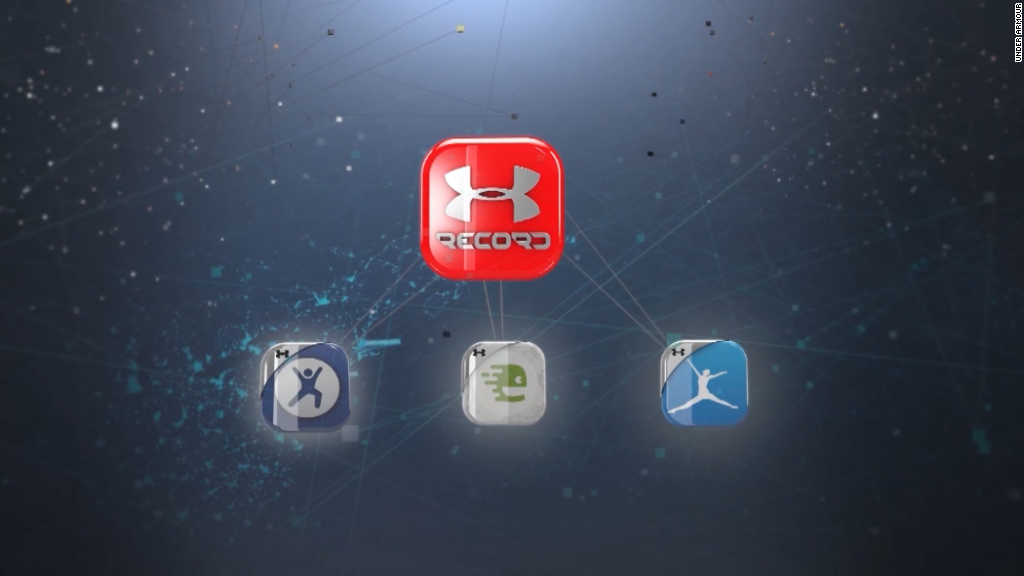 Under Armour bets big on fitness apps