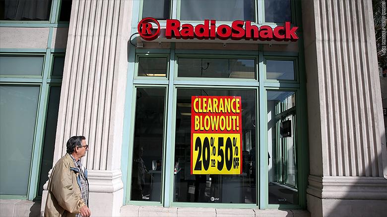 radioshack stores closing