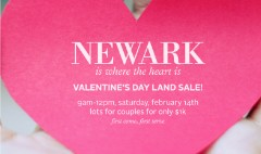 Newark to sell discounted land to couples on Valentine's Day