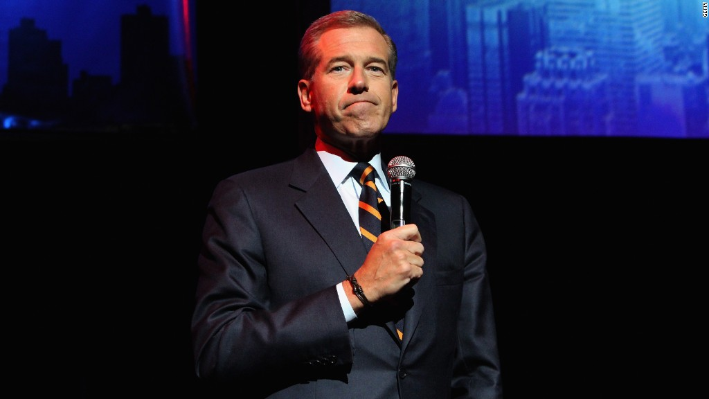 Brian Williams meets with NBCUniversal CEO