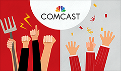 You despise Comcast -- but Wall Street doesn't