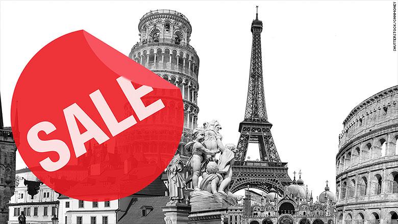 europe on sale