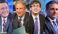 'The Daily Show's' biggest stars