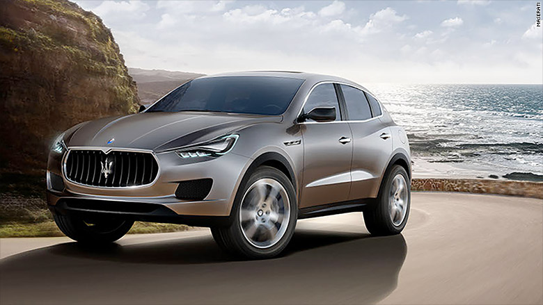 ultra luxury suv maserati