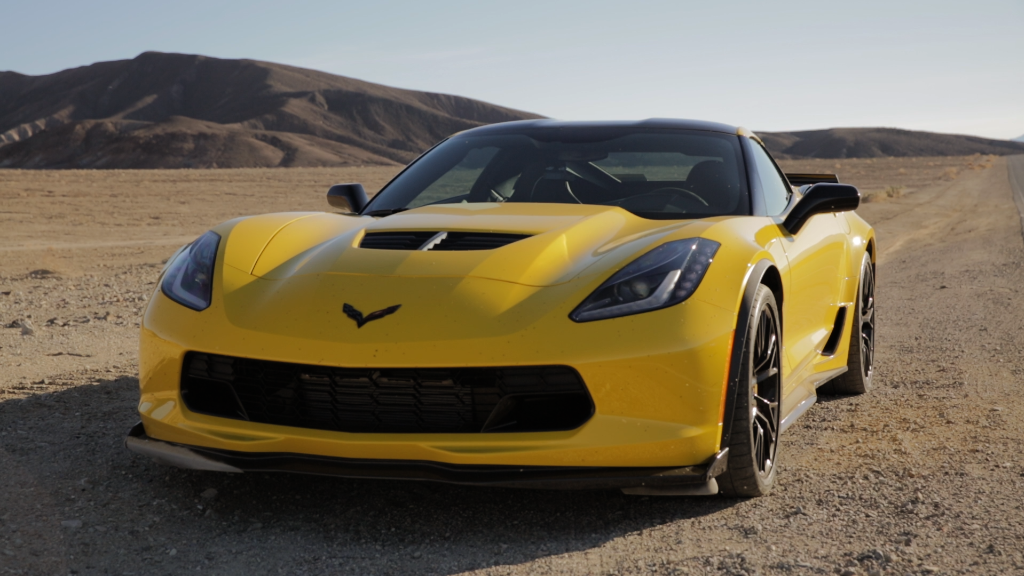 We took a Corvette Z06 to Death Valley