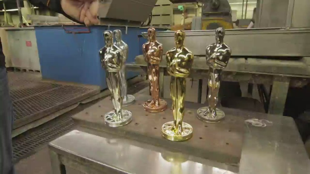 How to make an Oscar statue