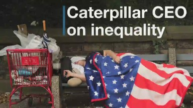 CAT CEO: Inequality is 'an urgent thing to solve'