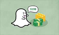 Snapchat eyes $19 billion valuation