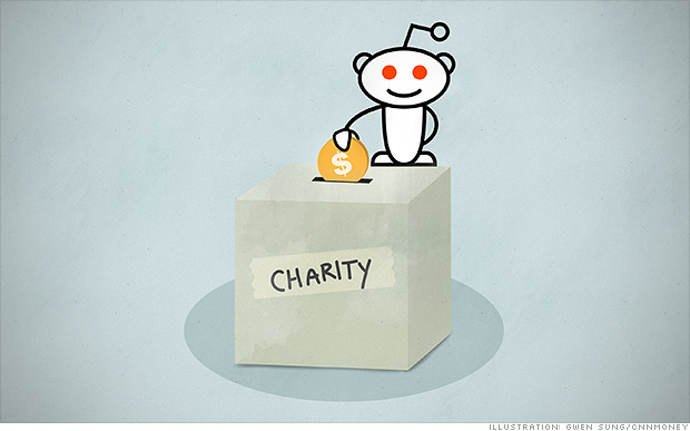 Reddit is donating 10% of its revenue to charity