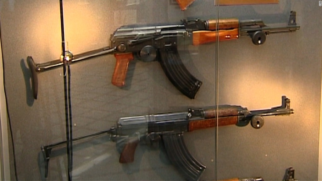 Business is booming for Kalashnikov