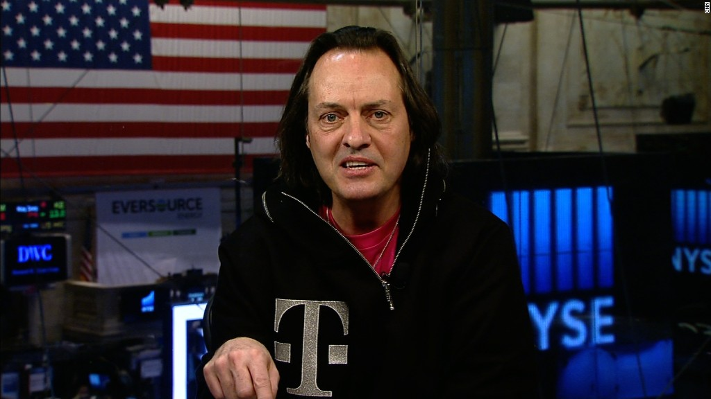 T-Mobile CEO on why he loves Twitter