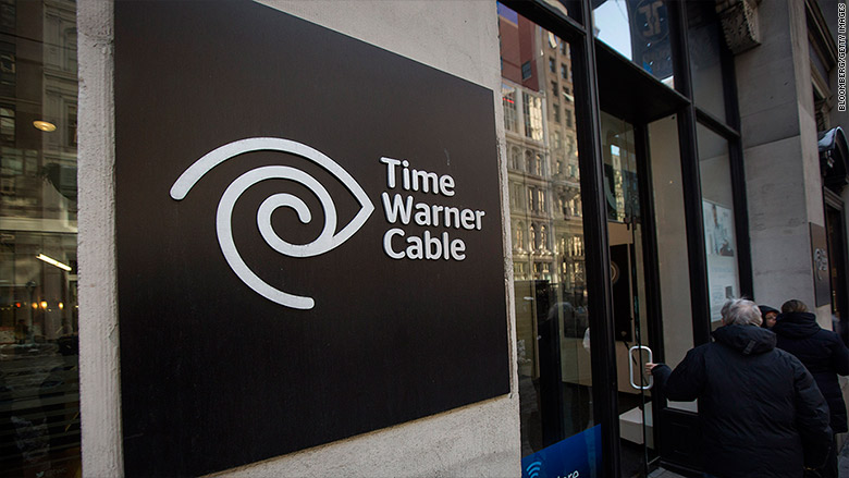 time warner cable sign