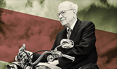 Warren Buffett endorses European bikers