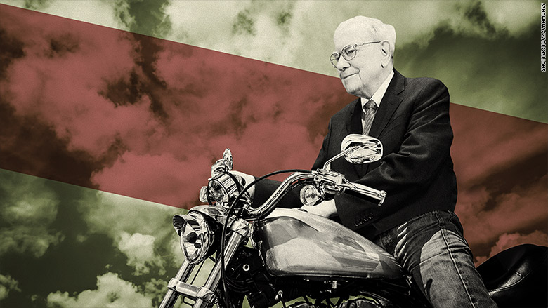 warren buffett motorcycle