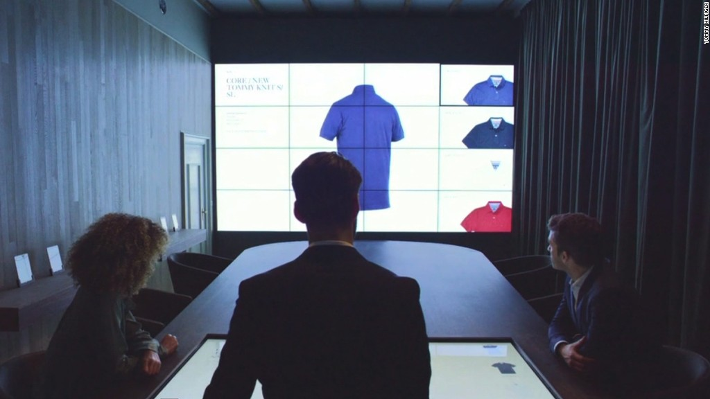 Tommy Hilfiger merges fashion with tech