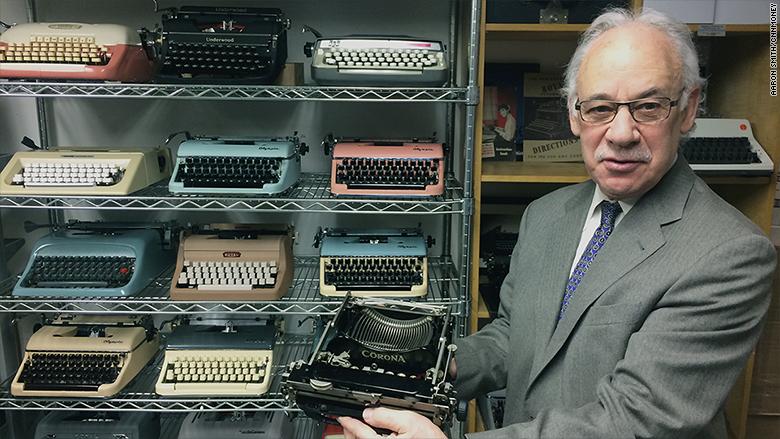 gramercy typewriter