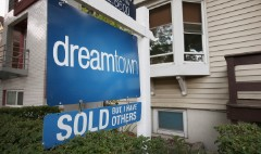 Home prices gain, but recovery is 'faltering'