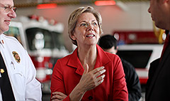 Elizabeth Warren brings a new fight for the middle class