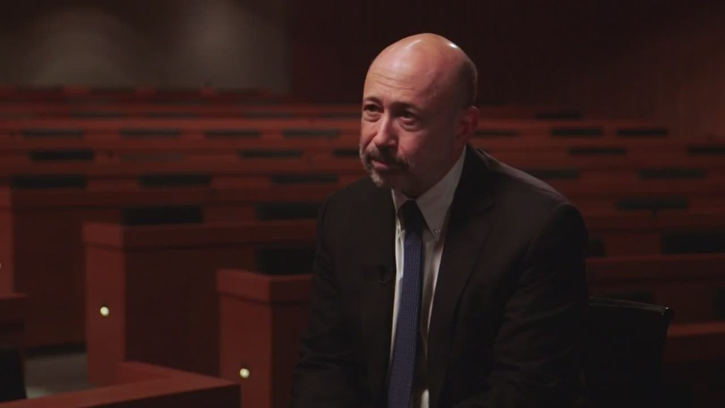 Blankfein not surprised by post-crisis regulation