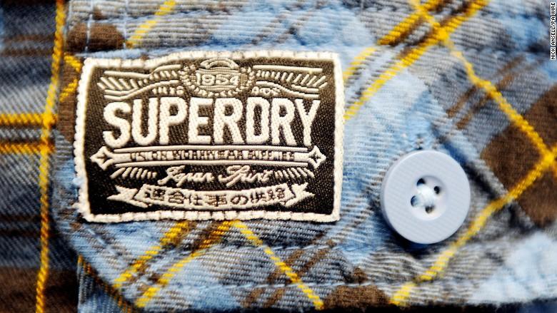supergroup cfo bankruptcy superdry