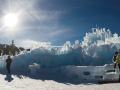 Deer Valley's apres ski ice castle