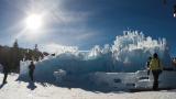 Deer Valley's apres ski ice castle