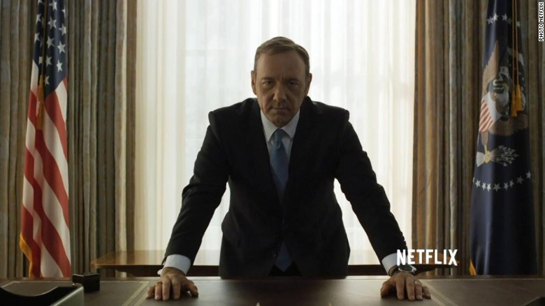 house of cards frank underwood president