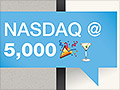 Boom! Nasdaq finally tops 5,000 again