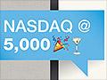 Boom! Nasdaq finally tops 5,000 again