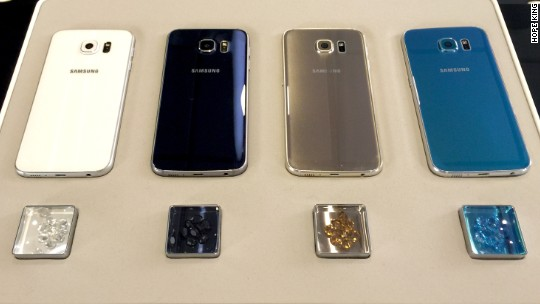 Samsung unveils beautiful new Galaxy S6