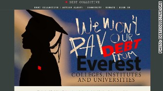 'debt collective website' from the web at 'http://i2.cdn.turner.com/money/dam/assets/150301143425-debt-collective-website-336x188.jpg'