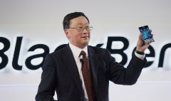 For BlackBerry, a surprise profit