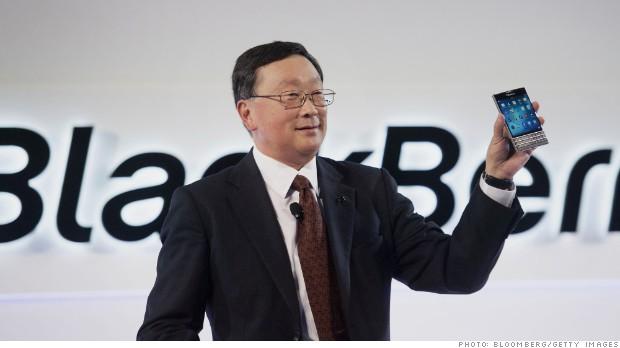 For BlackBerry, a surprise profit