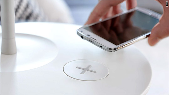 New Ikea furniture will charge your phone wirelessly