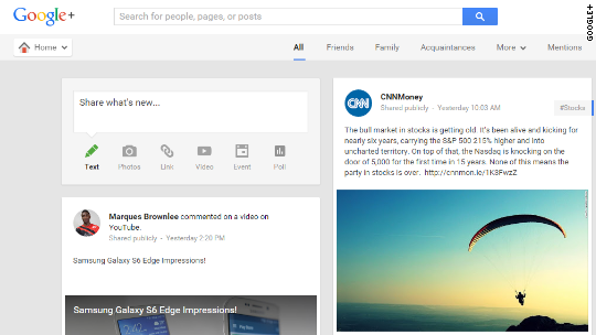 Google+ is getting dismantled