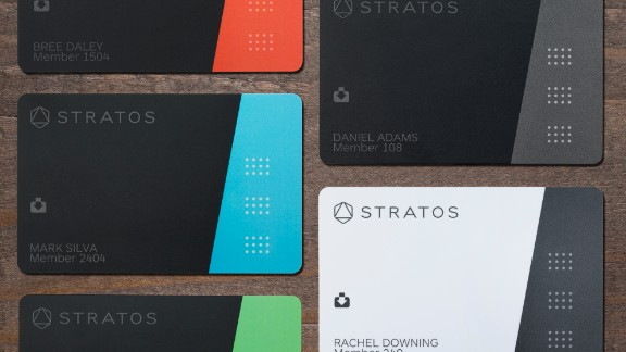 Stratos Card Colors