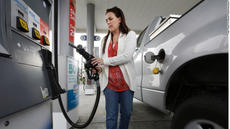 $2 gas is gone -- for now
