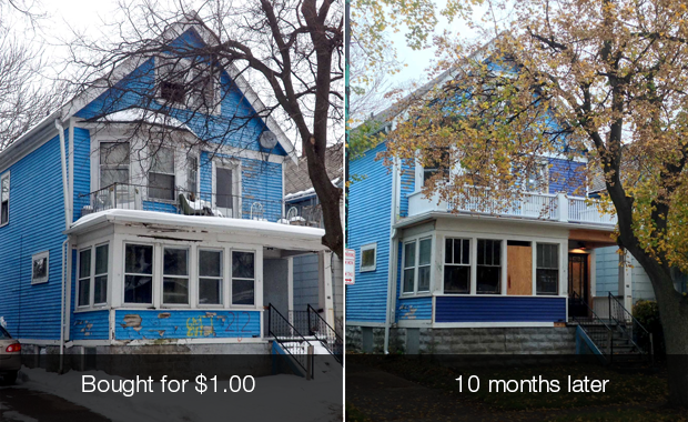 Buffalo's $1 homes aren't as cheap as they seem