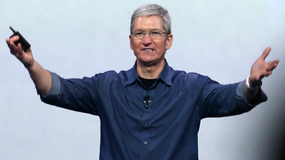 tim cook iphone sales