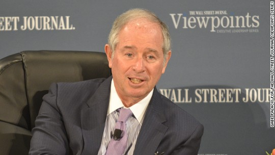 Blackstone CEO's recipe for success: Hire nice people