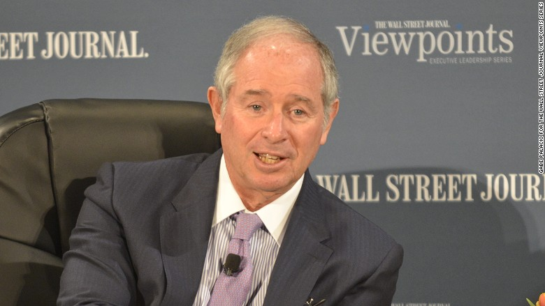 Blackstone CEO Schwarzman private equity