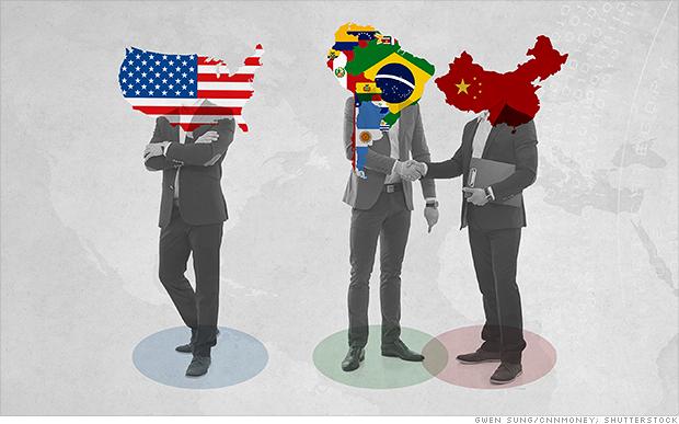 The latest China vs. U.S. showdown: Latin America