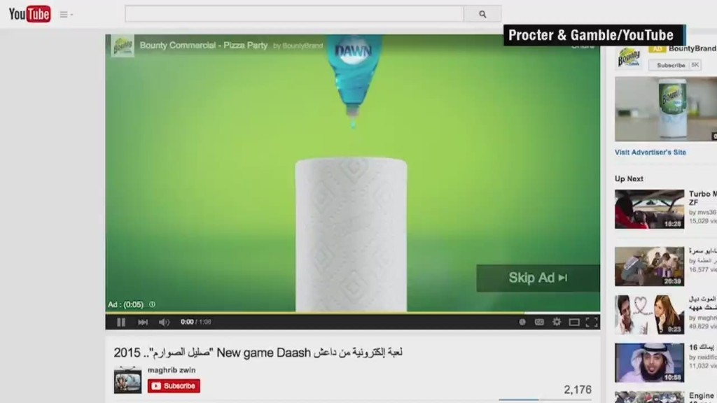 Beer, deodorant ads run before ISIS videos