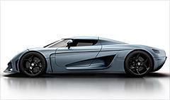 Koenigsegg's super hybrid: Zero to 248 in less than 20 seconds