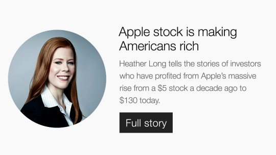 Apple stock is making Americans rich