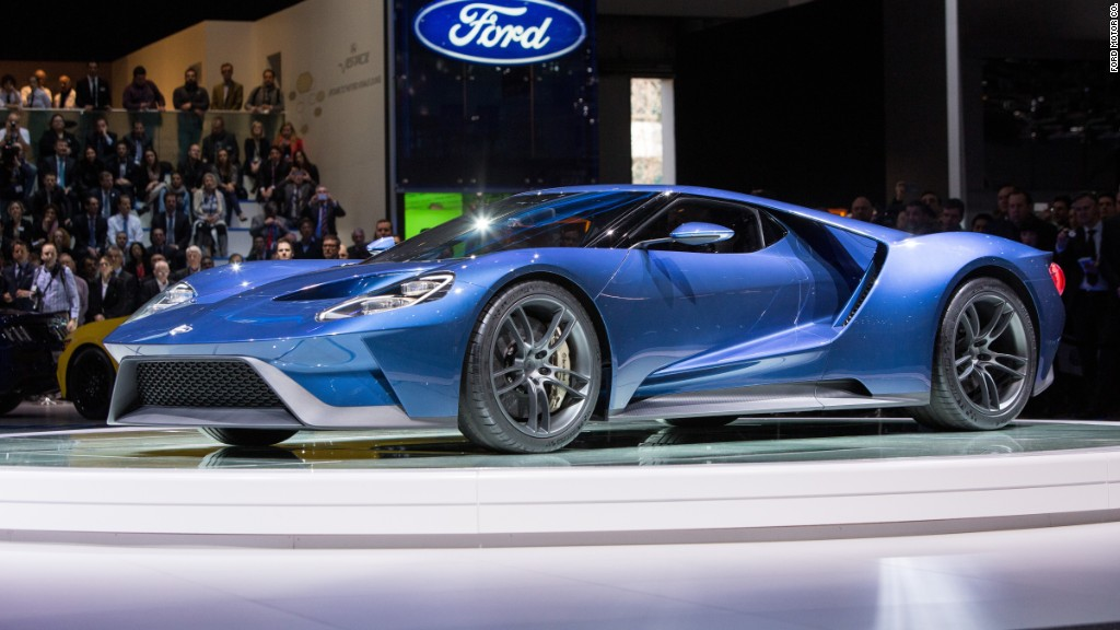 $  450,000 GT is Ford's most expensive car ever